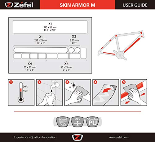 Zefal Skin Armor M Protector de cuadro 3
