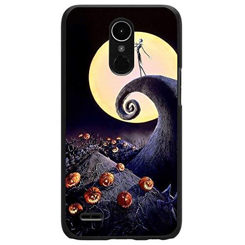 Silicone Case Halloween Full Moon LG K10 2017