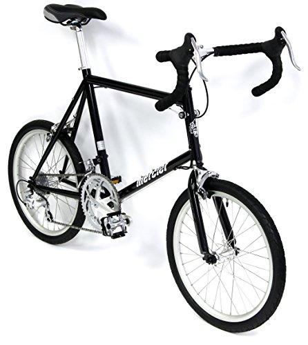 "Cheap Mercier Nano Mini Velo Road Bike Shimano Sora 16 Speed Commuter (Black, 48cm – 4'11"" to 5'7″)"
