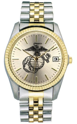 Frontier Us Marines - U.S. Marine Corps Watch w/ Stainless Steel Strap