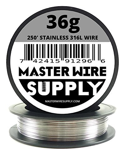 Stainless Steel 316L - 250' - 36 Gauge Wire 316 Stainless Steel Wire