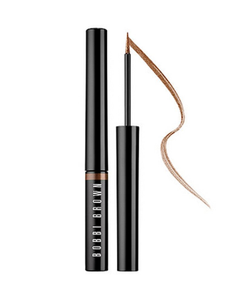Bobbi Brown Long-Wear Liquid Eyeliner Golden Bronze Sparkle for Women, 0.05 Ounce