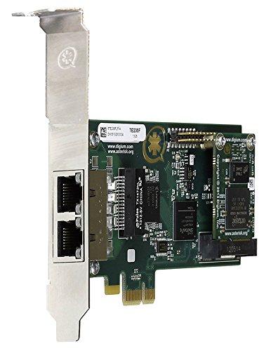 Digium 1TE235F Two Span Digital T1/E1/J1/PRI PCI-Express X1 Card