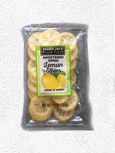 Lemon Slices - Trader Joe's Sweetened Dried Lemon Slices
