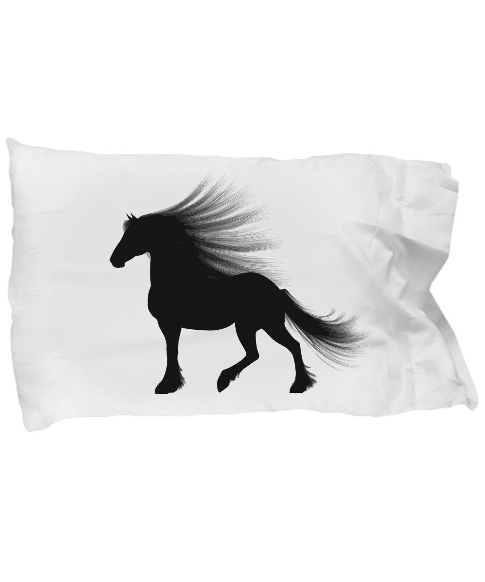 HORSE PILLOWCASE BEDDING, Cool Pillow Case for the Girl - Guy -Teen In Your Life Who Loves Horses, Fun Equine Lover Gift for College Dorm - Birthday - Christmas - Hanukkah, 3 Design Choices