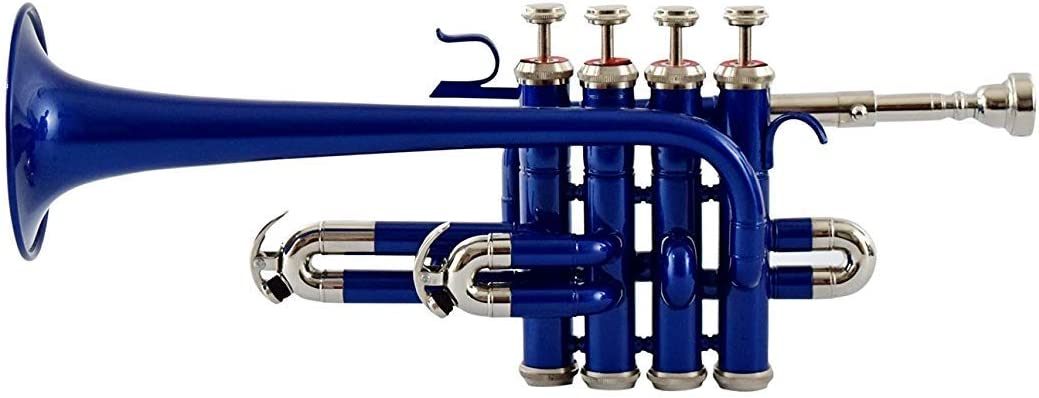 Bb sai musical Piccolo Trumpet Red and BLUE
