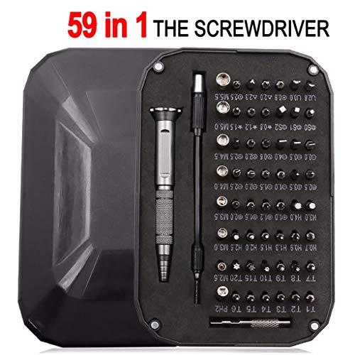 FINEjuyudd 59Pcs Small Mini Precision Screwdriver Set Watch Jewelry Electronic Repair Tool
