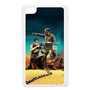 Mad Max Fury Road Movie 2 funda iPod Touch 4 caja funda del teléfono celular blanco cubierta de la caja funda EEECBCAAJ04405