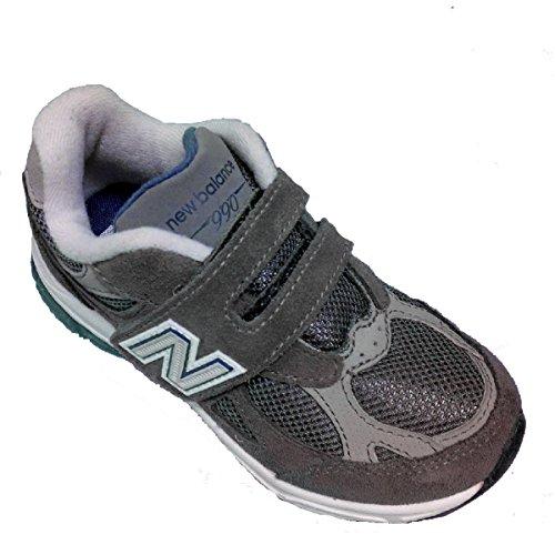 New Balance , Jungen Sneaker Grau Grey Suede