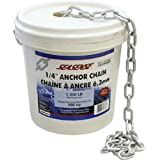 Seasense Bucket O Chain 1/4-Inch X 70-Feet, Galvanized