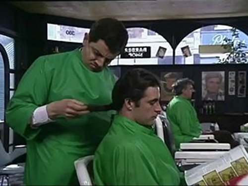 Hair by Mr. Bean of London