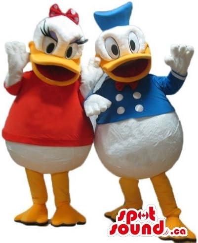 SpotSound Disfraz de Pato Donald: Amazon.es: Juguetes y juegos