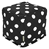 Majestic Home Goods Black Large Polka Dot Small Review