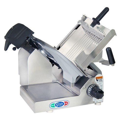 Globe 3600N 13'' Heavy Duty Manual Gravity Feed Slicer - 1/2 hp by Globe Food Equipment