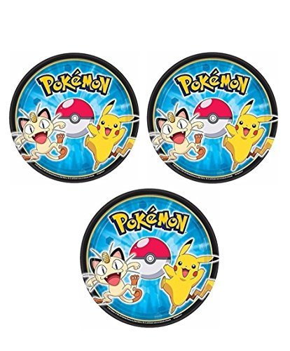 Pokemon Dessert Plates for 24 Guests