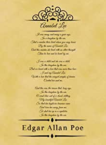 the characteristics of a ballad in edgar allan poes annabel lee Annabel lee edgar allan poe 1849 different physical characteristics seemed a  passage in poe's ballad where annabel lee appears to have been the download .