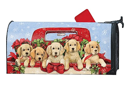 Studio M Christmas Mailbox Cover MailWrap Bringing Home The