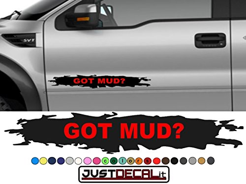 Truck Door GOT Mud? Decal Graphic Bed Stripe Fit Ram Silverado F150 Titan Tundra