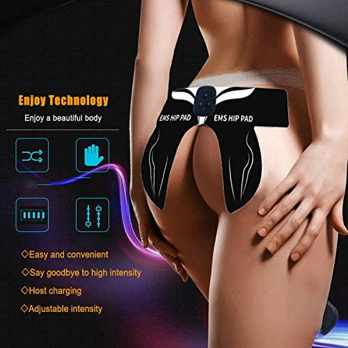ABS Smart Butt Hip Trainer,2020 Upgrade Buttocks Toner Fitness Training Gear,Ab Trainer Home Workout Equipment for for Women Men