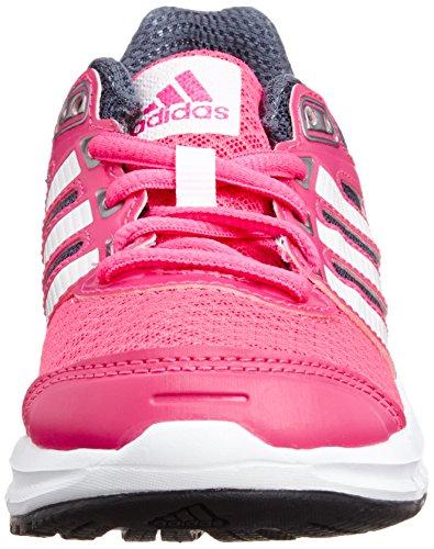adidas Performance Duramo 6 M18647, Unisex - Kinder Laufschuhe pink / weiß / grau