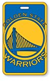 aminco Golden State Warriors NBA Luggage Tag - Royal,