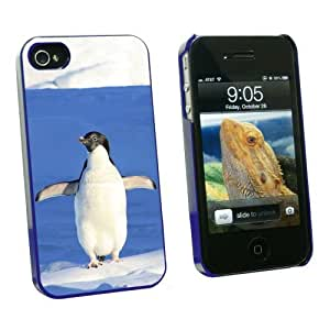 iphone covers Graphics and More Penguin - Funny Bird - Snap On Hard Protective Case for Apple Iphone 6 4.7 - Blue - Carrying Case - Non-Retail Packaging - Blue