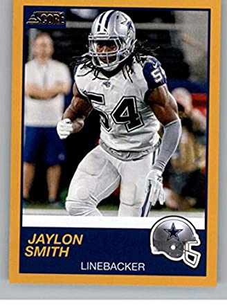 quality design ac772 13e27 Amazon.com: 2019 Score Gold Football #170 Jaylon Smith ...