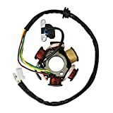 JRL Coils Ignition Stator 6 Poles Fit GY6 125cc 150cc Chinese Moped Scooter ATV