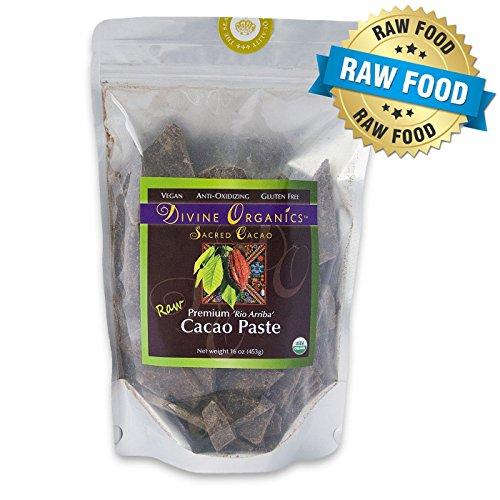 Price comparison product image Divine Organics,  16oz Raw Cacao Paste / Liquor