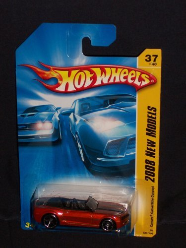 Hot Wheels 2008-037 New Models Camaro Convertible Concept RED 1:64 Scale ()