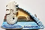 The Merlion Lion Fish Statue SINGAPORE Resin 3D fridge Refrigerator Thai Magnet Hand Made Craft. by Thai MCnets
