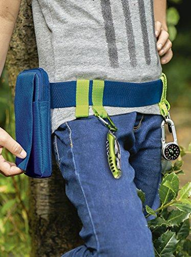 moses. Uni Expedition Natur Outdoor-Gürtel, Blau, Keine