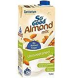 So Good Unsweetened Almond Milk, 1 Liter