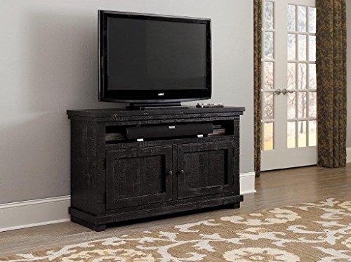 """Progressive Furniture Willow Distressed Black 54"""" Console -  P612E-54"""