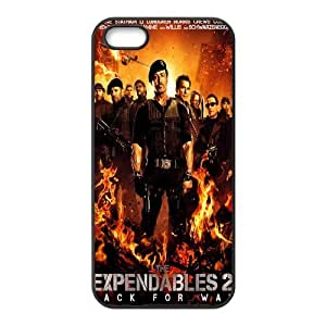 Custom The Expendables Back Cover Case for iphone5,5S JN5S-186