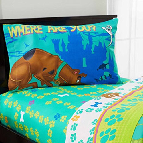 Scooby Doo 4 Piece Bed In A Bag Twin Bedding Set