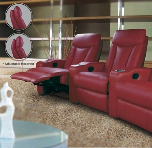 Pavillion Recliner - 2-Person Home Theater Seating
