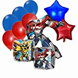 Transformers Birthday Party Decorations Mylar Balloon Bouquet Set