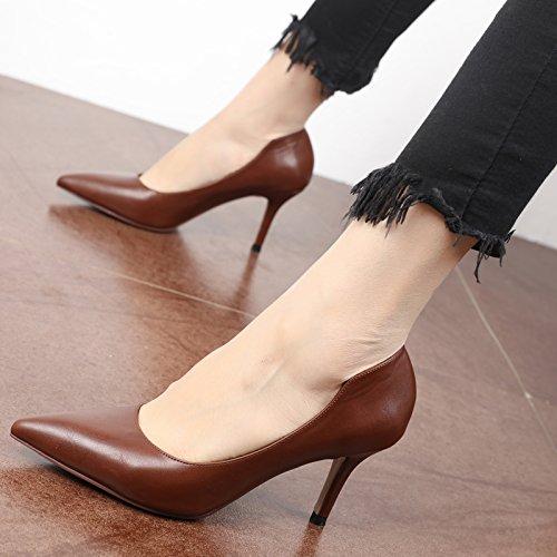 FLYRCX Semplice fashionsingle shoesingle shoesingle shoespring e Autunno seasonladies Belle Scarpe Tacco