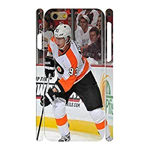 Ultra Chic Personalized Phone Accessories Print Hockey Player Pattern Skin For Iphone 5C Case Cover