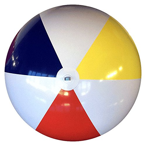 6-FT Deflated Size Traditional P7 Beach Ball by Beachballs