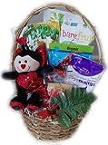 Little Valentine's Healthy Gift Basket for Children