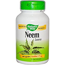 Nature's Way - Neem, 475 Mg, 100 Capsules