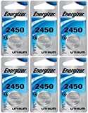 Health & Personal Care : Energizer CR2450 Lithium Battery, 3v ECR2450, Qty 6