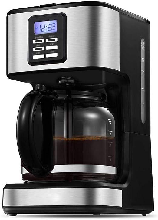 Y&J Cafetera Programable Filtro Máquina De Café Reloj/Temporizador ...