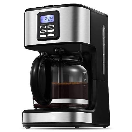 Y&J Cafetera Programable Filtro Máquina De Café Reloj ...