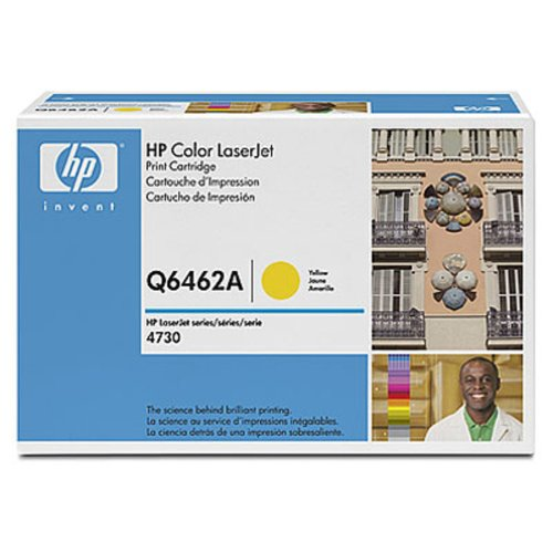 HP Laserjet 644A  Yellow Cartridge in Retail Packaging (Q6462A), Office Central
