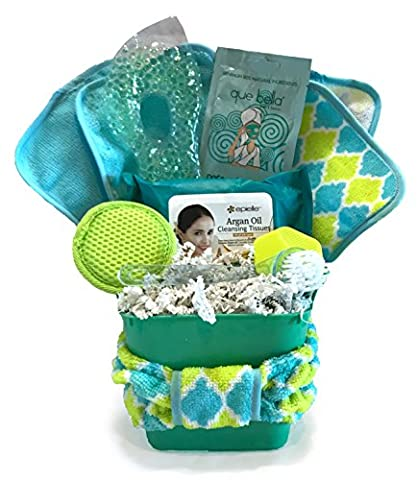 Spa Gift Baskets - Luxurious Bath Spa Set - Perfect for Wife, Mom, Grandmother, Daughter, Girlfriend, Friend, Aunt, or Coworker (Facial Spa Gift - - Energy Gift Basket