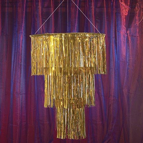 Gold Three Tier Chandelier Party Supplies -