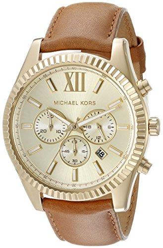 Michael Kors Men's Lexington Gold-Tone Watch - Kors Buy